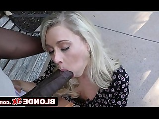 Big Tits Black Blonde Blowjob Boobs Big Cock Huge Cock Interracial