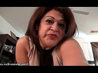 Cougar Granny HD Masturbation Mature MILF Nylon Panties