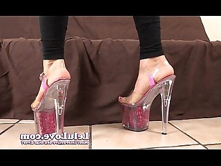 Amateur Ass Feet Flexible Foot Fetish HD High Heels Jerking