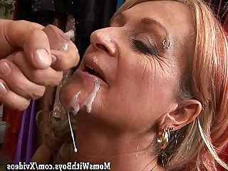 Blonde Blowjob Boyfriend Cougar Cumshot Facials Friends Fuck