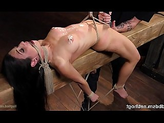 Ass BDSM Beauty Brunette Deepthroat Feet Foot Fetish Hot