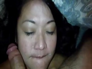 Cumshot Indonesian Mouthful Student Sucking